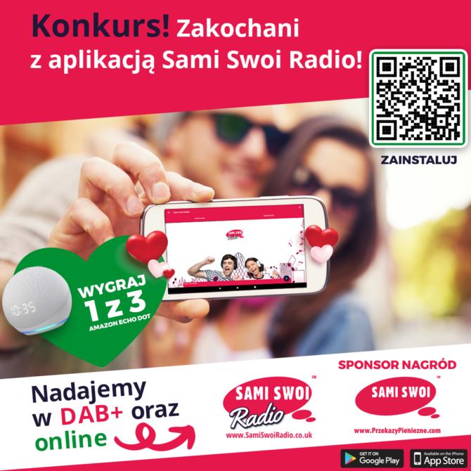 Walentynkowy konkurs w Sami Swoi Radio! Wygraj super nagrody!